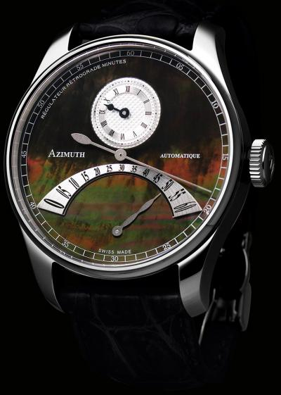 Часы Regulateur Retrograde Minutes Black Mother-of-Pearl