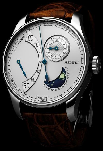 Часы Retrograde Minutes Jour et Nuit