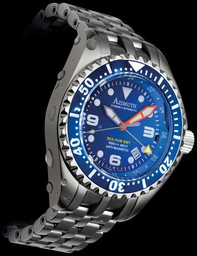 Часы Sea-Hum GMT