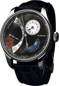 Часы Retrograde Minutes Jour et Nuit Black