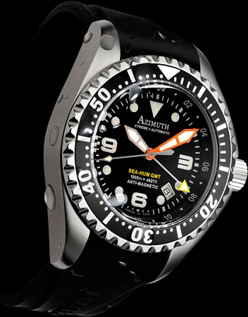 часы Azimuth Xtreme-1 Sea-Hum GMT